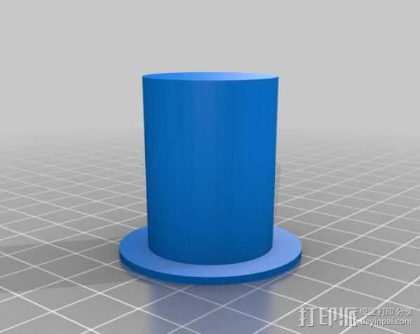 MakerBot Replicator打印机的工具架 3D打印模型渲染图