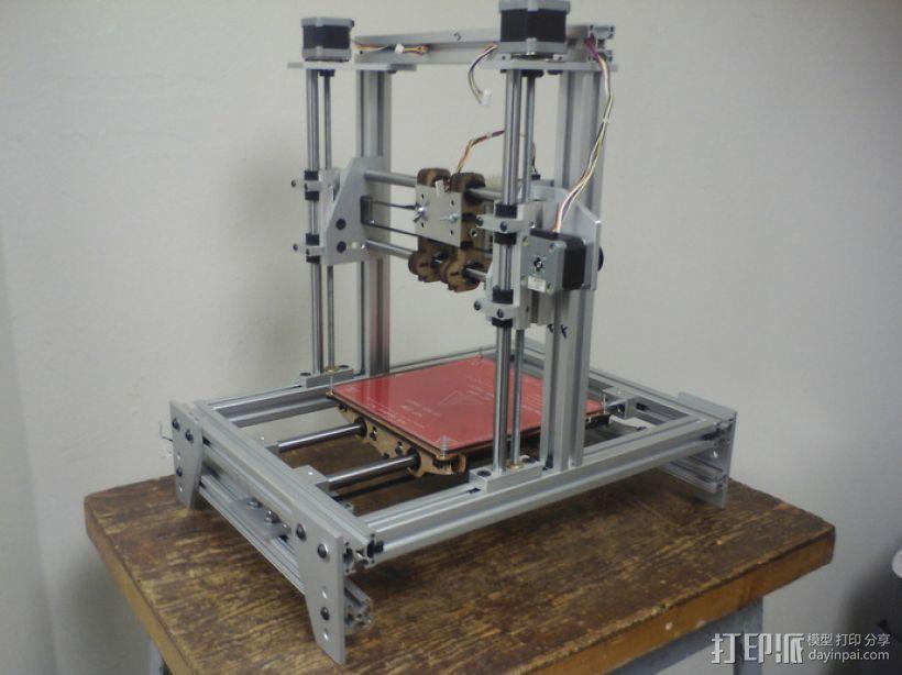 RepStrap打印机 3D打印模型渲染图