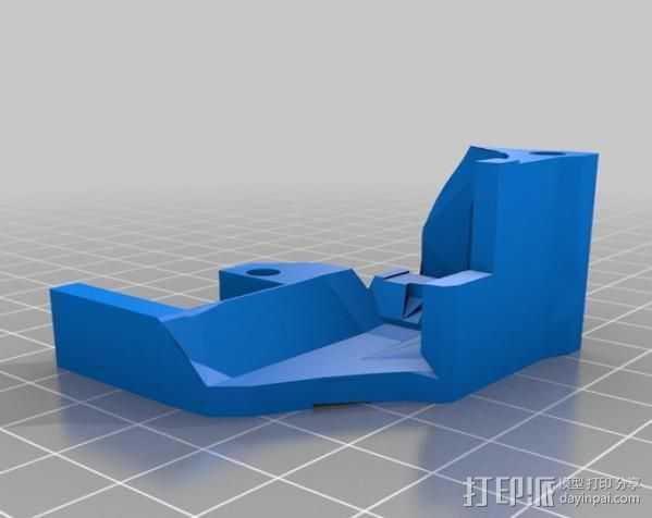 激光切割器支架 3D打印模型渲染图