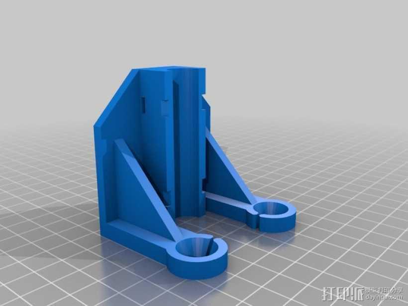 Replicator 打印机导线器 3D打印模型渲染图
