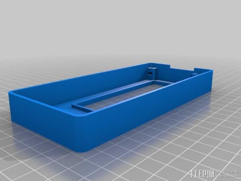 智能控制器显示屏外壳 3D打印模型渲染图