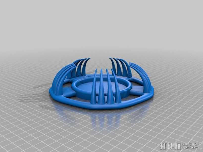 很有个性的杯垫 3D打印模型渲染图