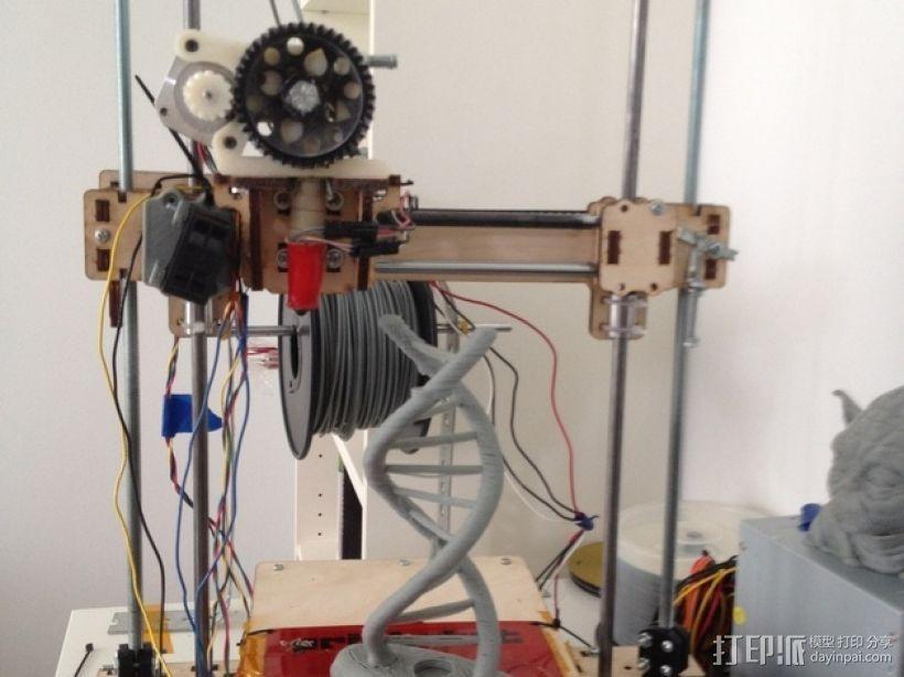Printrbot打印机Z轴 3D打印模型渲染图