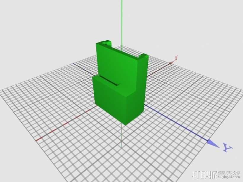 线轴 重型线轴 3D打印模型渲染图