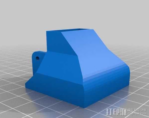 40毫米的风扇罩 3D打印模型渲染图