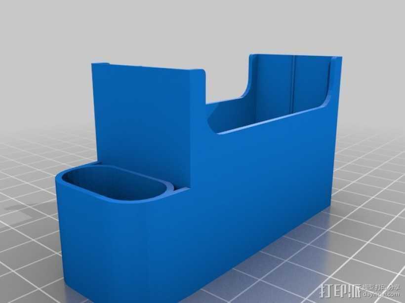 香烟盒 打火机架 3D打印模型渲染图