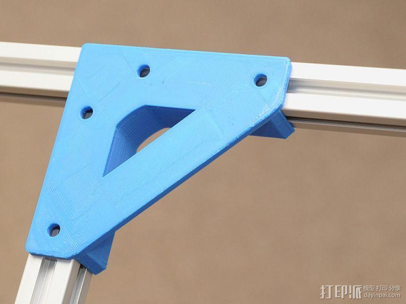 直角固定器· 3D打印模型渲染图