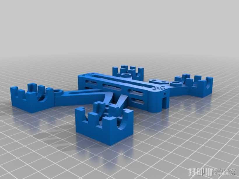 Prusa i2打印机Y轴轴承套管 3D打印模型渲染图
