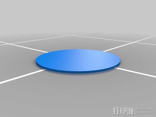 打印测试 3D打印模型渲染图