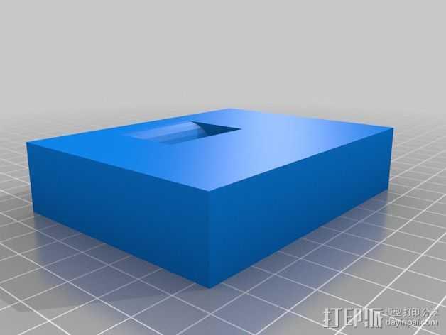 手机支架 3D打印模型渲染图
