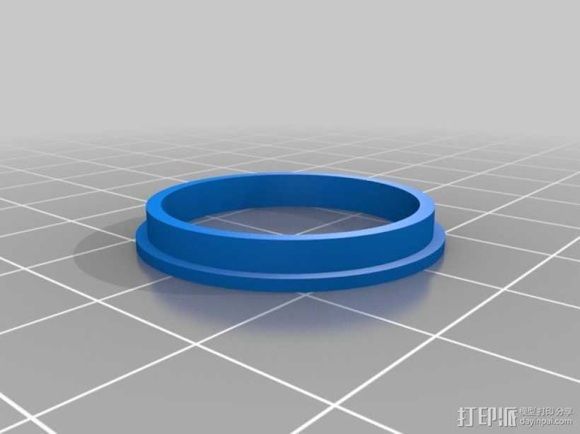 轴承导向环 3D打印模型渲染图