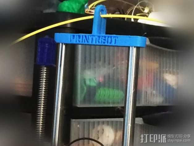 打印机的Z轴稳定器 3D打印模型渲染图