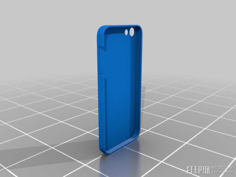 苹果手机外壳 3D打印模型渲染图