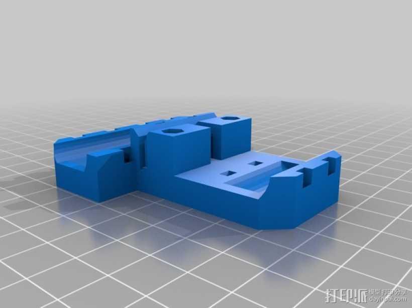 LME8uu轴承套管 轴承支架 3D打印模型渲染图