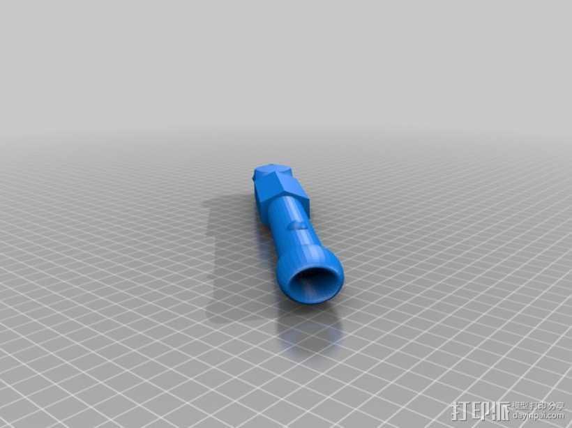 光剑手柄 3D打印模型渲染图