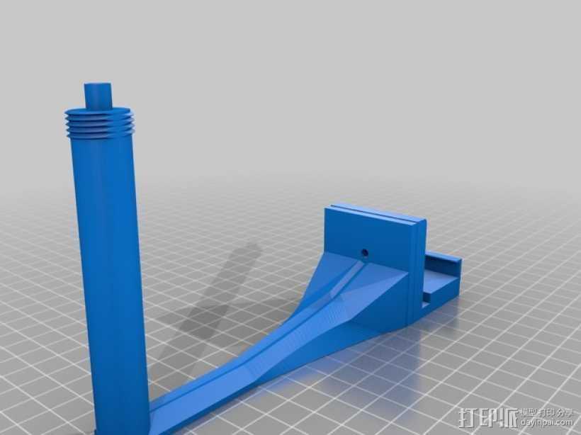 相机支架 3D打印模型渲染图