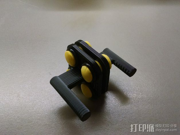 MakerGear M2打印机上的摄像头支架 3D打印模型渲染图