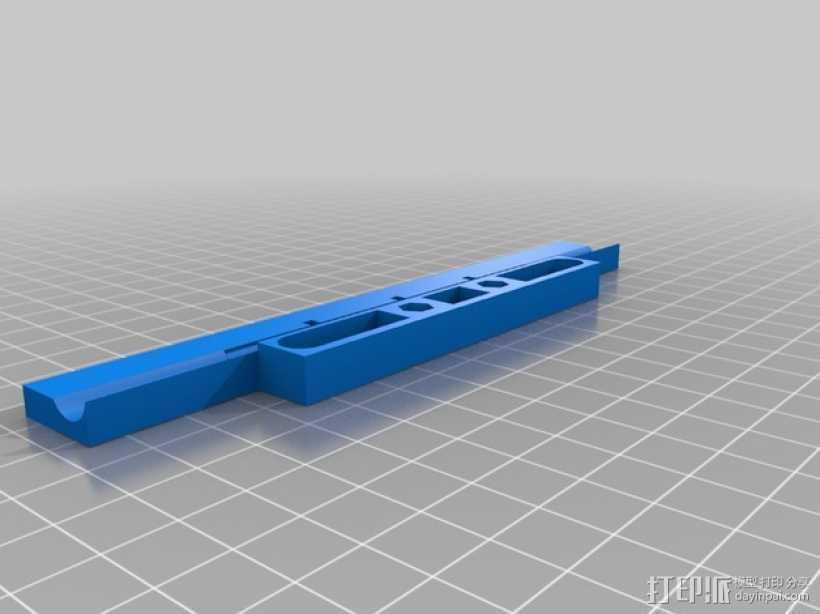 USB灯框条 支架 3D打印模型渲染图