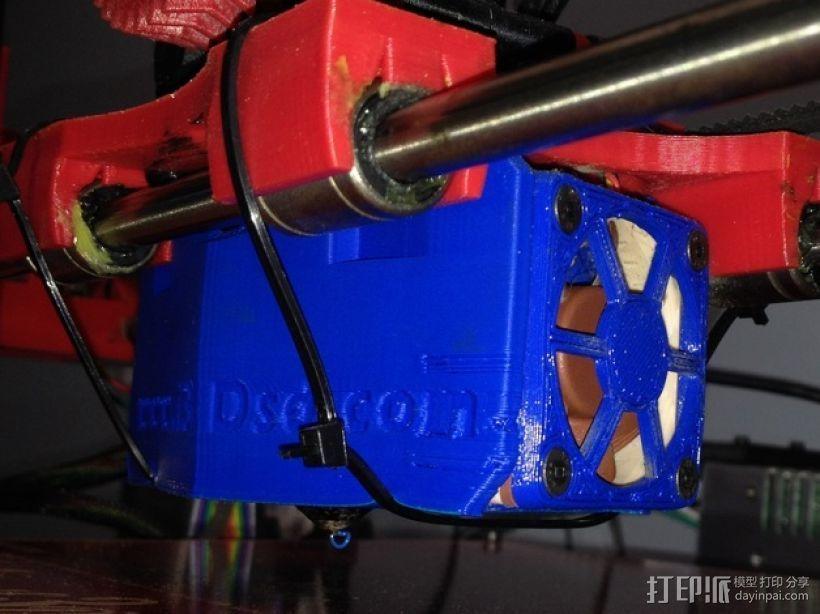 风扇支架 风扇罩 3D打印模型渲染图