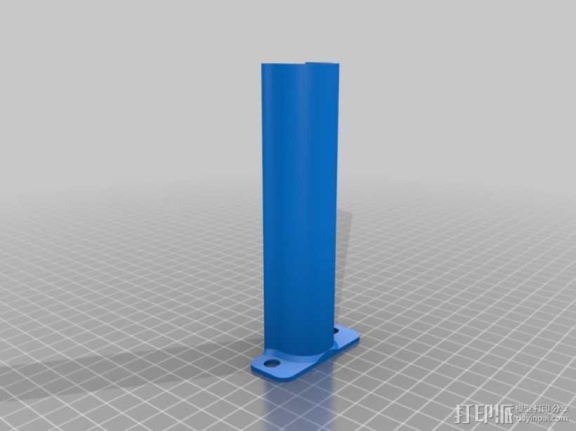 Creatr打印机轴杆套管 3D打印模型渲染图