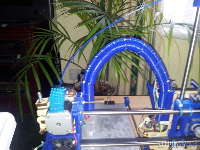 导线器装置 3D打印模型渲染图