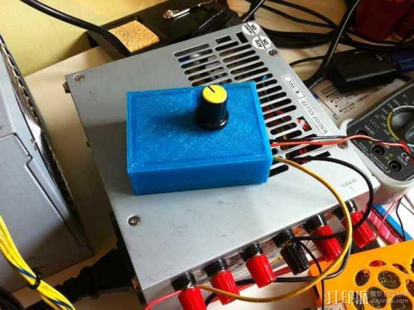 变速器外盒 调速器外盒 3D打印模型渲染图