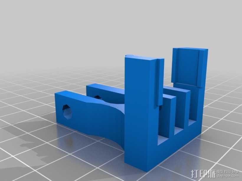 打印机Z轴的限位开关 3D打印模型渲染图