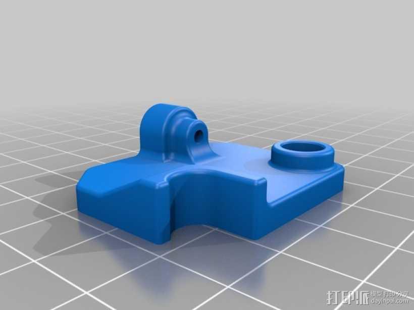 挤出机的送料器 3D打印模型渲染图