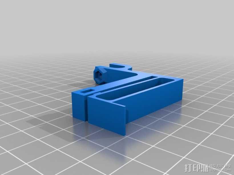 可以调节的限位开关 3D打印模型渲染图