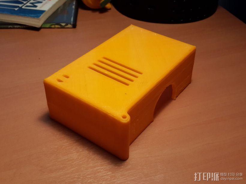 电路板罩 保护罩 3D打印模型渲染图