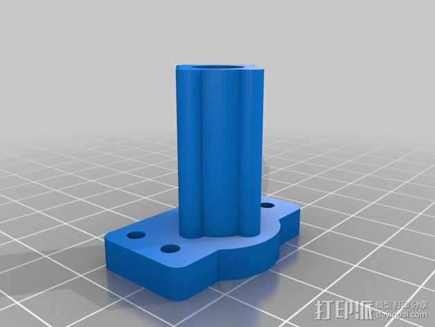 Robo3D打印机Z轴的稳定器 3D打印模型渲染图