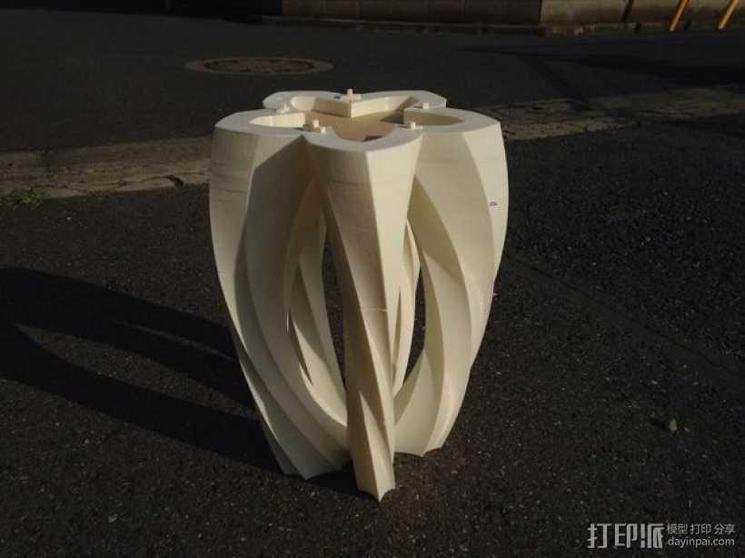 螺旋形的工具 3D打印模型渲染图
