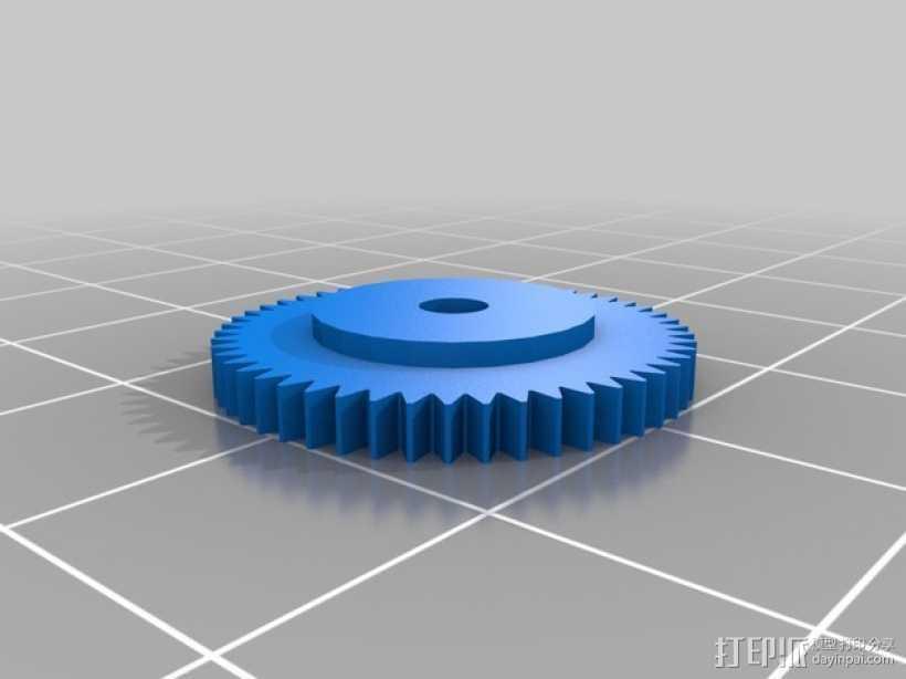 控制旋钮 3D打印模型渲染图