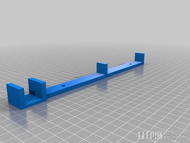 PSU 电源支架 3D打印模型渲染图