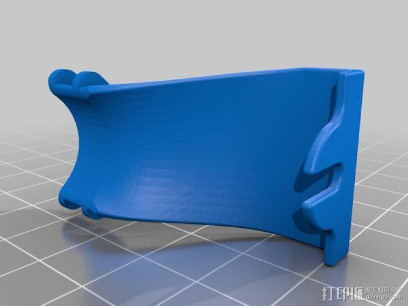 电缆收纳器 3D打印模型渲染图
