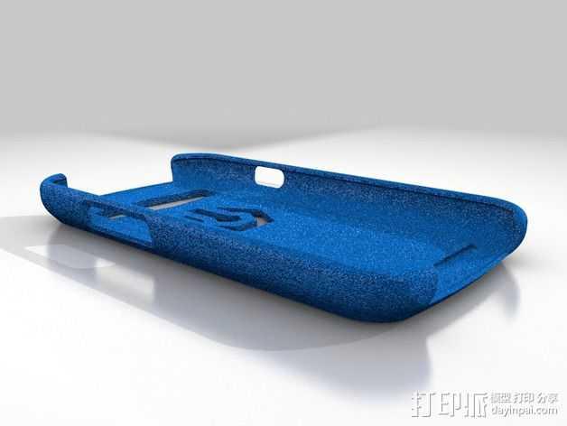 三星 S3手机外壳 3D打印模型渲染图