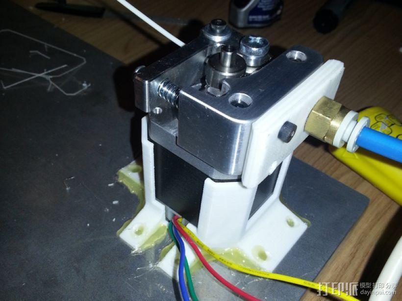 步进电机支架 3D打印模型渲染图