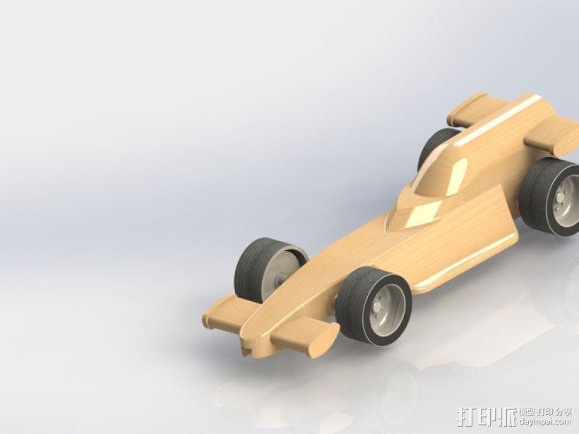 F1赛车模型 3D打印模型渲染图