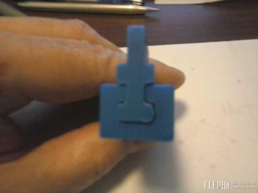 导梁和滑块 3D打印模型渲染图