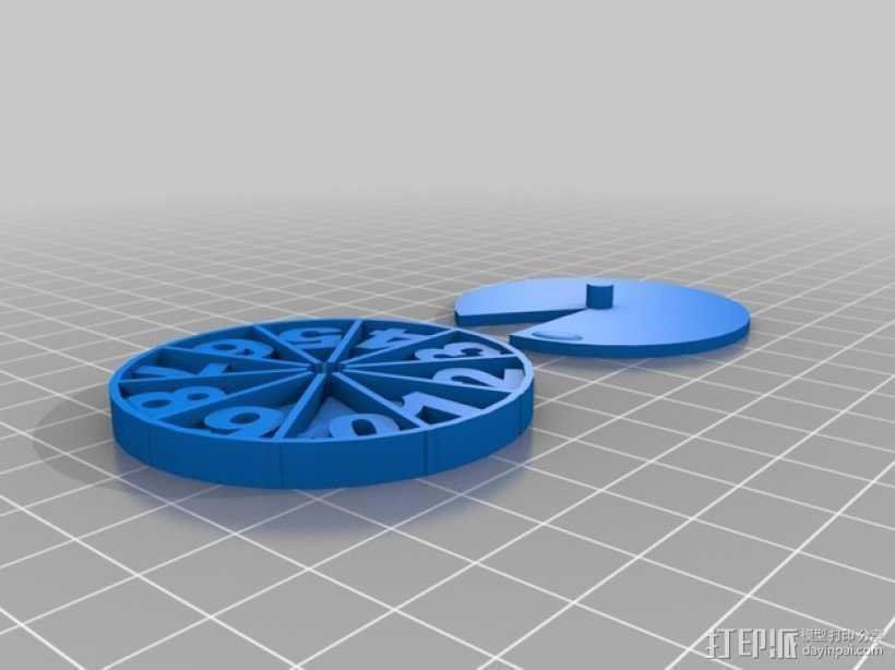 游戏计数器 3D打印模型渲染图