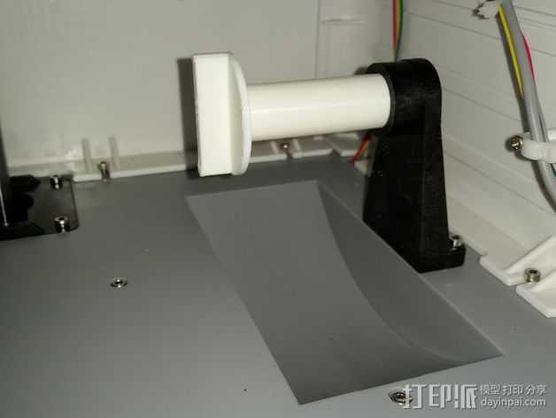 FlashForge打印机的线轴支架 3D打印模型渲染图