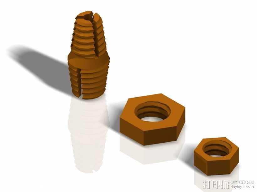 Z耦合器 3D打印模型渲染图