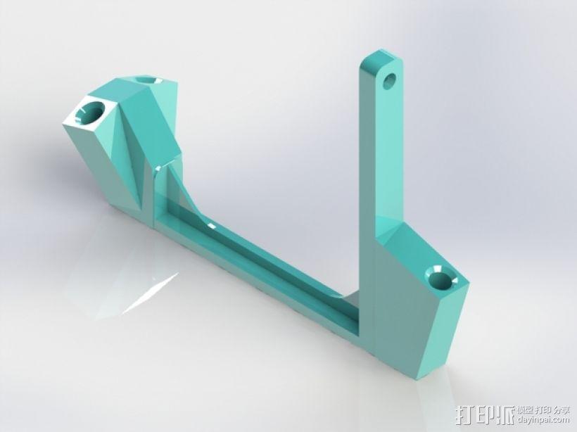 线圈支架 3D打印模型渲染图