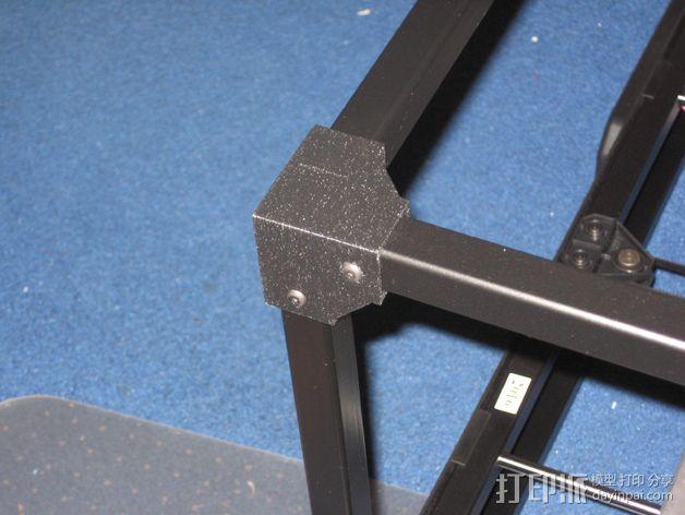 转角固定器 3D打印模型渲染图