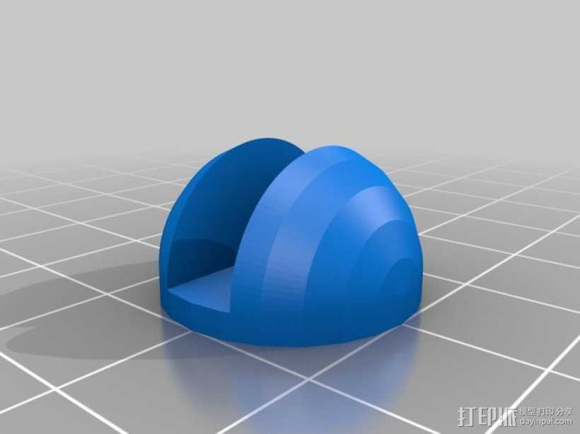 MakerFarm Prusa i3打印机的底垫 3D打印模型渲染图