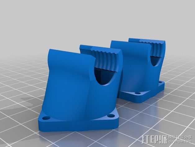 30毫米的风扇罩 3D打印模型渲染图