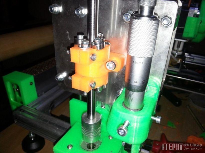 无螺纹滚珠螺杆固定器 3D打印模型渲染图