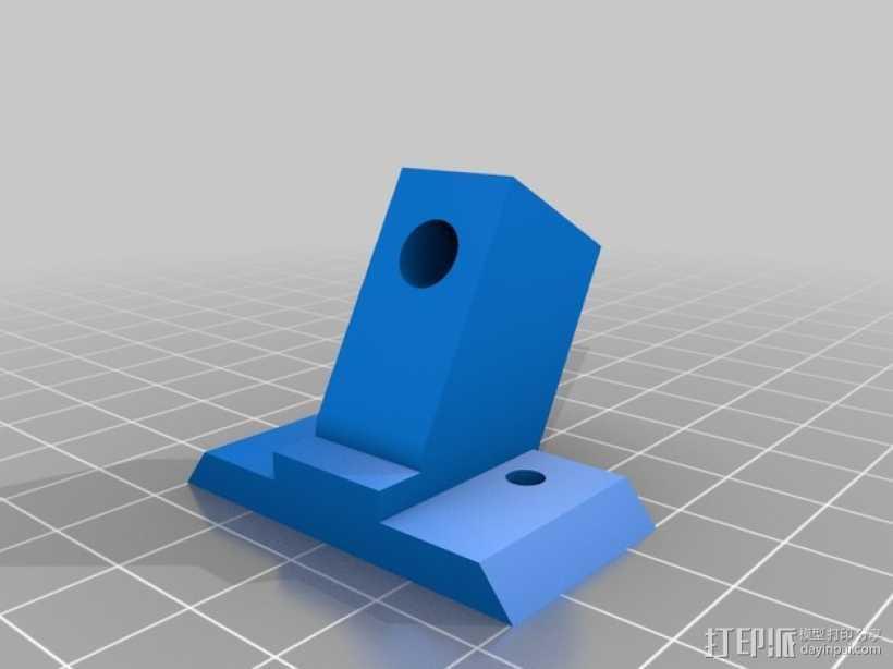 prusa i3打印机Z轴的稳定器 3D打印模型渲染图