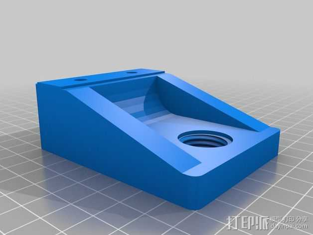 K8200/3DRag打印机的的电摩支架 3D打印模型渲染图