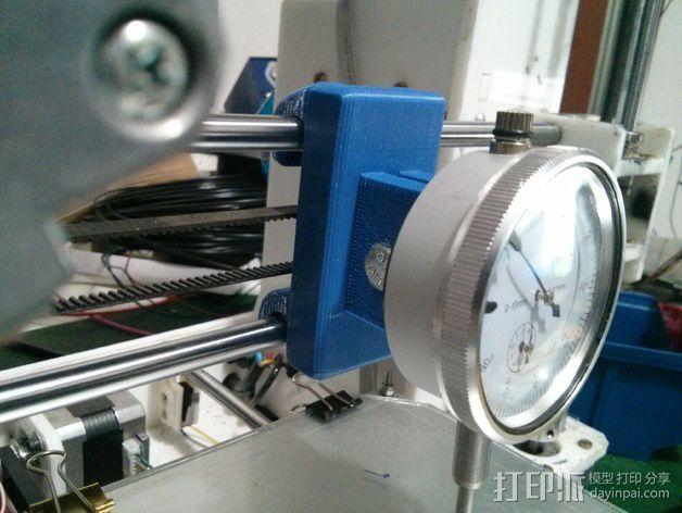 刻度盘指示器支撑架 3D打印模型渲染图